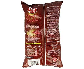 Frit Ravich Patatas fritas onduladas con sabor a jamón 160 g