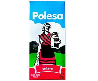 Polesa Leche entera Brik de 1 Litro