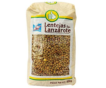 Productos Económicos Alcampo Lentejas tipo Lanzarote 500 Gramos