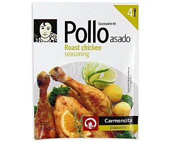 Carmencita Sazonador pollo asado 7 grs