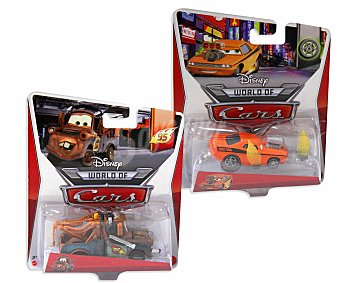 Cars 2 Mattel coches personajes
