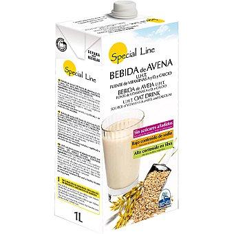 Special Line Bebida de avena sin azucares añadidos alto contenido en fibra  envase 1 l