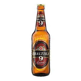 BALTIKA Cerveza Lager Extra nº 9 50 cl