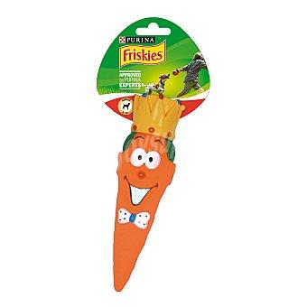 Purina Friskies Juguete para perros pequeños Zanahoria Blister 1 ud