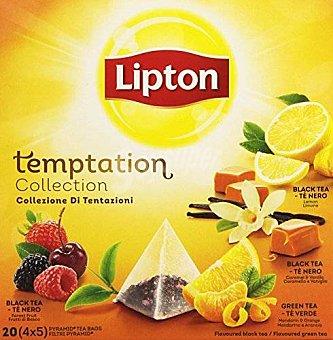 Lipton Infusiones temptation colección 20 ud