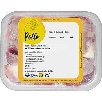 Sada Mollejas de pollo peso aproximado Tarrina 500 g