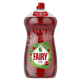 Fairy Lavavajillas a mano ultra frutos rojos Botella 1.5 l