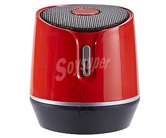 Qilive Mini altavoz Q1900 864773 por batería, rojo 865011