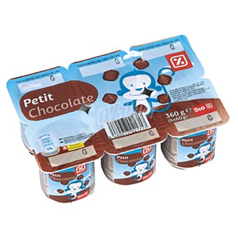 DIA Petit chocolate pack 6 unidades 60 g