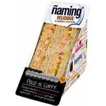 Ñaming Sandwich de pollo al curry 1 unid