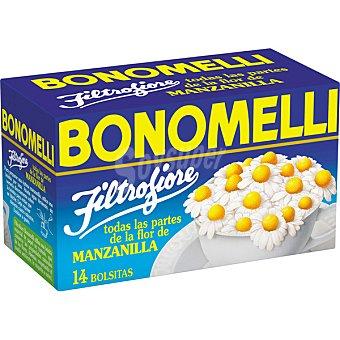 BONOMELLI Filtrofiore manzanilla 14 bolsitas  estuche 28 g