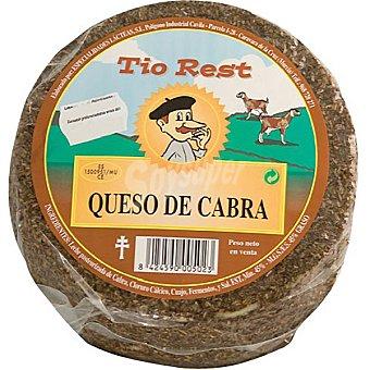 TIO REST Queso de cabra al romero  1 kg (peso aproximado pieza)
