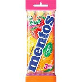 Mentos Caramelos de fruta Pack 3x38 g