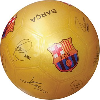 MONDO Balón de futbol con firmas Barcelona
