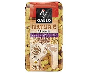 Gallo Pasta macarrones multicereales quinoa, centeno malteado y trigo duro Paquete 400 g