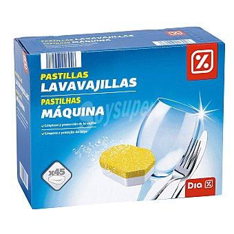 DIA Lavavajillas máquina caja 45 pastillas 45 pastillas