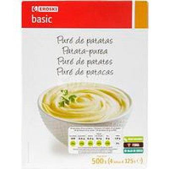 Eroski Basic Puré patatas 500g 500g