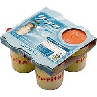Veritas Yogur desnatado Pack 4x125 g