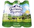 Leche desnatada UHT Pack 6 botellas x 1.5 l  Central Lechera Asturiana