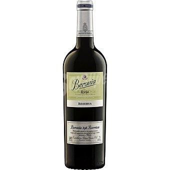 Beronia Vino tinto Selección 198 Barricas reserva doca Rioja Botella 75 cl