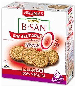 Virginias Galletas b-san integrales sin azúcar 480 g