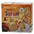 Galletas safari 3x200 g Carrefour