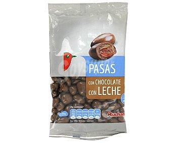 Auchan Grageados pasas chocolate con leche 150gr