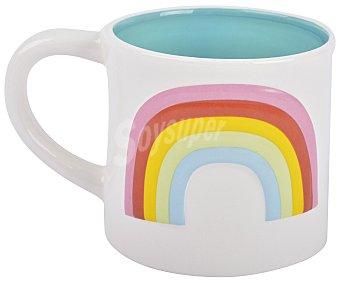 Marshmallow Mug 3D con diseño arcoiris, marshmallow.