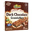 Barritas de cereales chocolate negro Sin Gluten Caja de 5 unidades (124 gramos) Sam Mills