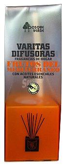 Bosque Verde Ambientador varitas difusoras frutos del mediterraneo (naranja) u 40 cc