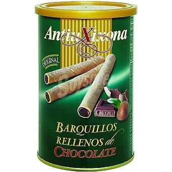 Antiu Xixona Barquillo relleno de chocolate Bote 200 g