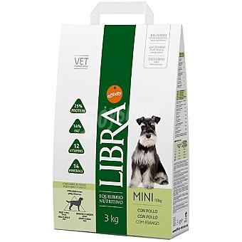 Libra Affinity Alimento nutritivo y equilibrado para perros adultos de raza mini con pollo Adult Mini Bolsa 3 kg