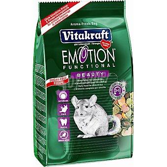 Emotion Vitakraft Alimento premium para chinchillas Paquete 600 g