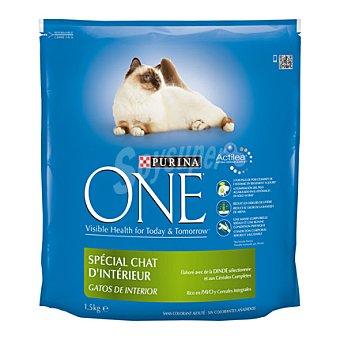 One Purina Gatos de interior 1,5 kg