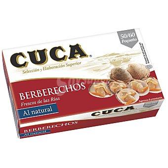 Cuca Berberecho 50/60 piezas Lata de 63 g