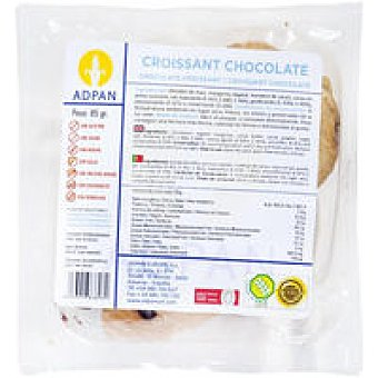 Adpan Croissant de chocolate 2 unid