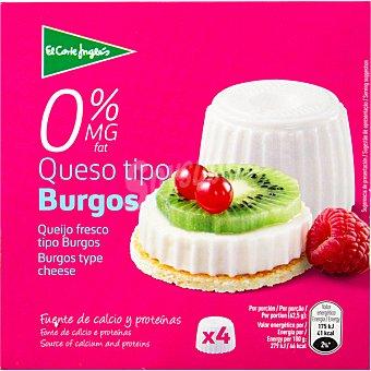 Aliada Queso fresco 0% M.G Pack 4 envases 62,60 g
