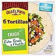 Tortillas de trigo Bolsa 6 unidades 244 gr Old El Paso