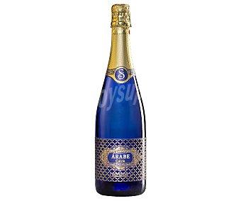 Árabe Cava brut nature de elaboración artesanal y con denominación de origen Cava Botella de 75 cl