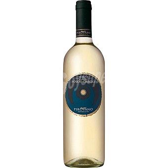 PIROVANO Vino blanco pinot grigio de Italia  botella 75 cl