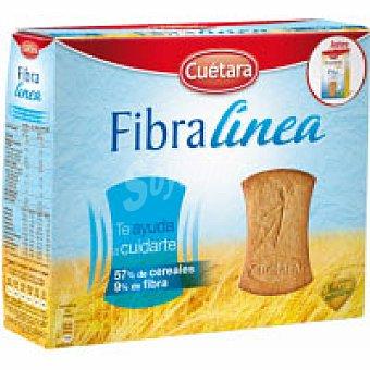Cuétara Galleta fibra linea Caja 550 g + 20%