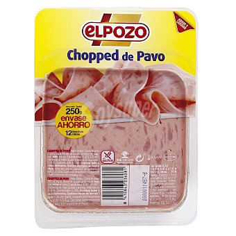 ElPozo Chopped de pavo 250 g