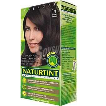 Naturtint Tinte negro ébano 1n color permanente sin amoniaco caja 1 unidad Caja 1 unidad