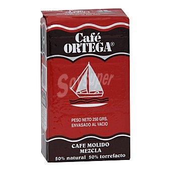 Ortega Café molido mezcla Paquete 250 g