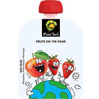 POM'BEL Manzana y fresa 100% fruta lista para beber Envase 90 g
