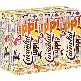 Cacaolat Upp! Breakfast batido de cacao con cereales Pack 6 envases 200 ml