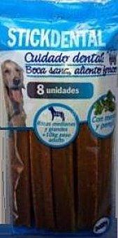 Bobby Comida perro snack stick dental grande (con menta y perejil) 8 X 26 g