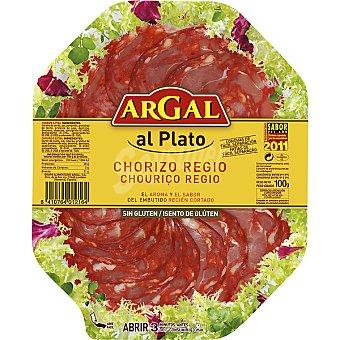 ARGAL AL PLATO Chorizo Regio en lonchas Envase 100 g