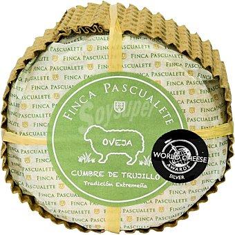 Finca pascualete Cumbre de Trujillo queso de leche de oveja semicurado de Extremadura pieza 450 g