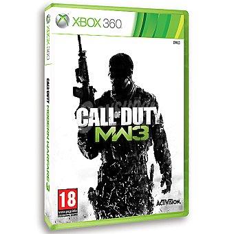 XBOX 360 Videojuego Call of Duty: Modern Warfare 3 1 Unidad